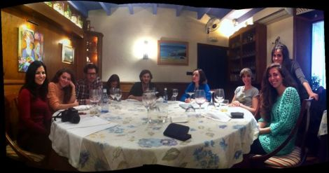 almuerzo de expertos asociación andaluza de coolhunting, aacoolhunting, belen torregrosa