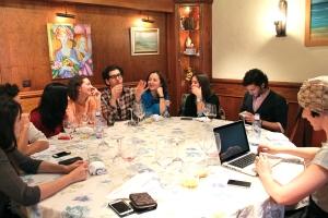 almuerzo de expertos asociación andaluza de coolhunting, aacoolhunting