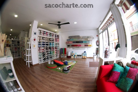 Tienda sacocharte, dos hermanas, tendencia, DIY, Sevilla, Asociación Andaluza de Coolhunting, Sacocharte