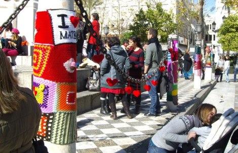 sacocharte, tejiendo la ciudad, sevilla, diy lana, tendencia, asociación andaluza de coolhunting