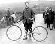 El origen de la bicicleta, con piñon fijo.