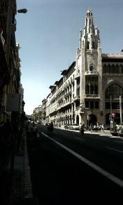 via laietana, barcelona, foto de Pedro J. Canela
