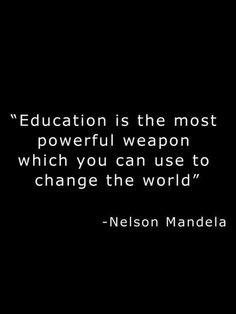 educación Nelson Mandela