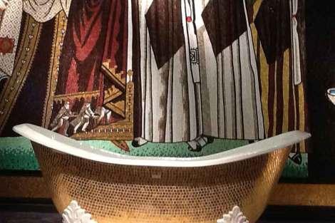 coolhunting Bañera mosaicos de Sicis