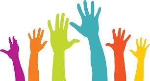 manos voluntarias, trabajo voluntarias, voluntariado coperativo