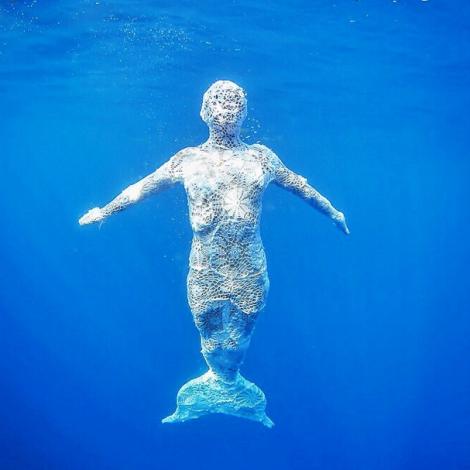 sirenas, crochet, olek, mermaid, pangeaseed