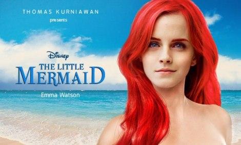 La sirenita, Emma Wtson, película, disney, sirenas, mermaids, tendencias
