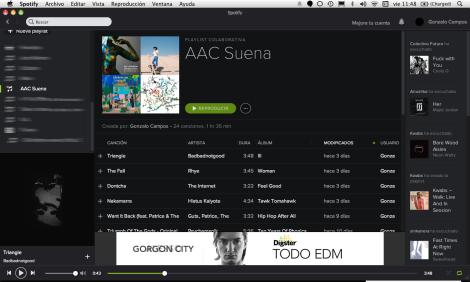 Spotify, music curator, playlist, comisario musical, lista de reproducción