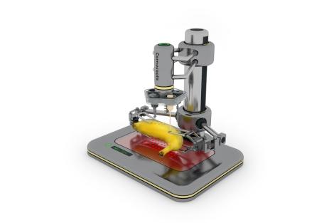 prototipo impresora 3d para comida, impresora 3d para comida, impresora para comida, imprimir comida