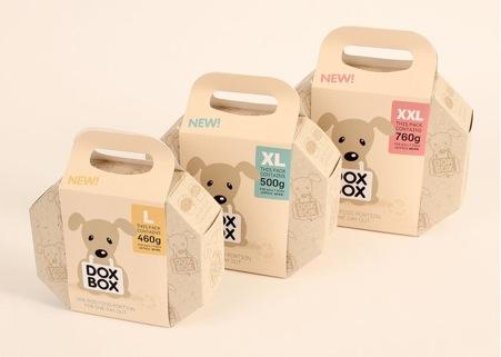(6) Tupper para perros DoxBox