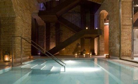 baños vallromanes, hoteles ecológicos, primer hotel ecológico de españa, huertos ecológicos