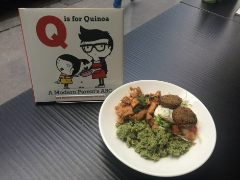 quinoa en restaurantes, quinoa para padres, trendstour, trendstourLondon, super alimentos, superfood
