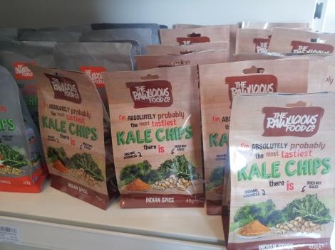 chips Kale, trendstour, trendstourLondon, super alimentos, superfood