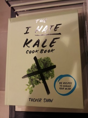 The i hate kale cook book, libros sobre kale, trendstour, trendstourLondon, super alimentos, superfood